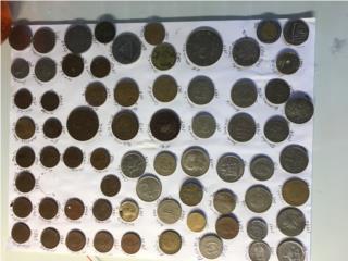 Variedad de monedas, Puerto Rico