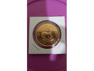 moneda krugerrand 1oz. oro, Puerto Rico