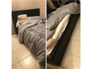 Cama full con mattress (de IKEA) en 375 , Puerto Rico