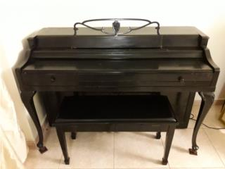 Piano de pared, Puerto Rico
