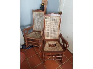 2 sillones antiguos, Puerto Rico