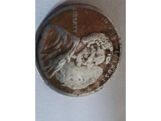 centavo de doble  color 2007, Puerto Rico