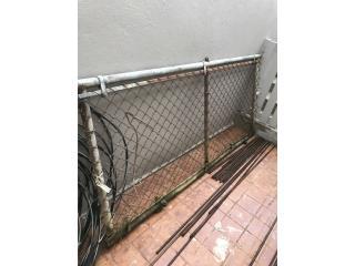 Porton en tubos galvanizado 7pies y ancho37p, Puerto Rico