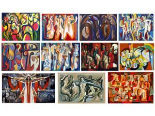 Arte, obras de Augusto Marín parar escoger, Puerto Rico