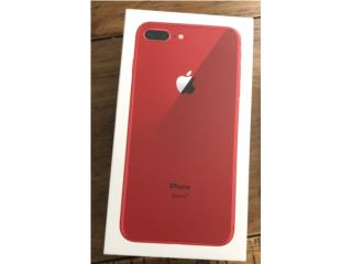Iphone 8 plus (PRODUCT) RED, Puerto Rico