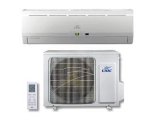 Inverter CIAC 12,000 BTU, solo 3 meses de uso, Puerto Rico