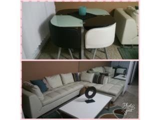 muebles y juego de comedor, Puerto Rico
