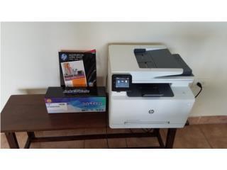 Printer HP Color Laser Jet Pro, Toner y Papel, Puerto Rico