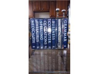Conjunto de 8 diccionarios Webster, Puerto Rico