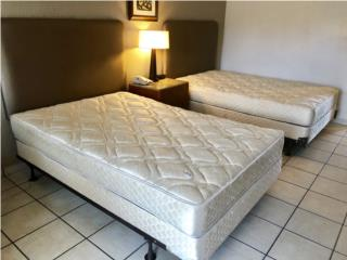Mattress - Set con box spring y frame, Puerto Rico