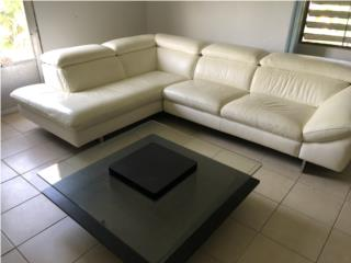 Mueble En Piel COMO NUEVO $500.00, Puerto Rico