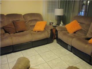 Sofa y Loveseat usados con reclinables, Puerto Rico