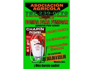 BOMBA PARA FUMIGAR CHAPIN 4 GL, Puerto Rico