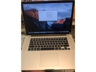 MacBook Pro retina 15 i7 Photoshop y fina cut, Puerto Rico