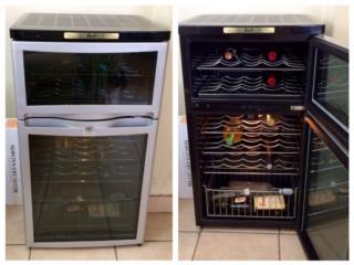 Wine cooler Vinera de dos puertas, Puerto Rico