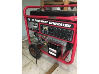 Generador 10,000 watts en $1000, Puerto Rico