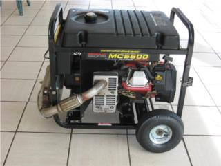 Generador GENERAC MC-5500, Puerto Rico