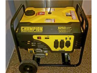 Generador Champion 5000 Watts, Puerto Rico