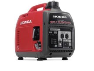 Generadores Inverter Honda EU2200, Puerto Rico