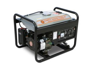 Generador de 3,300W, Puerto Rico