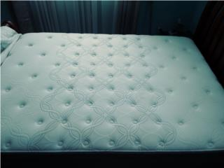 Set de mattress full como nuevos Sealy Orto, Puerto Rico