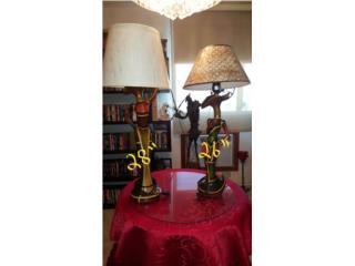 Lámparas Étnicas -$20 grande, $15 mediana , Puerto Rico