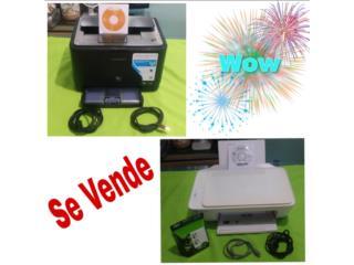 Impresora HP Desk Jet 2132 / Samsung CLP 310w, Puerto Rico