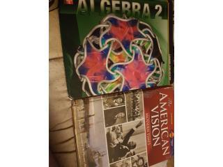 Vendo libro Algebra 2 / The American Vision, Puerto Rico