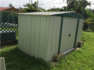casa jardin 10x6 zinc galvanizado, Puerto Rico
