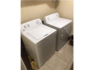 Secadora y lavadora Kenmore, Puerto Rico