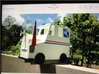 Buzón Único Estilo USPS Truck! , Puerto Rico