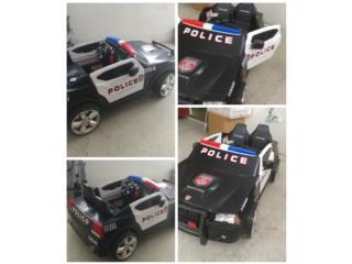 Carro de Policia electrico, Puerto Rico