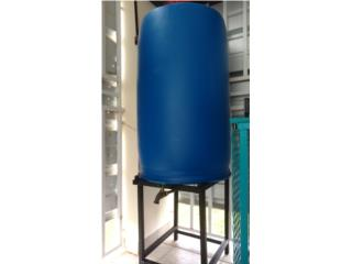 Tanque de agua de 55 galones, Puerto Rico