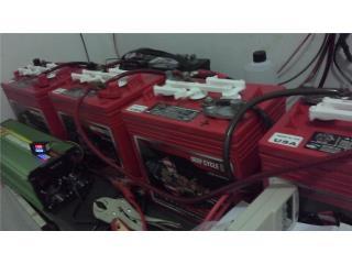 Bateria Solar 6V 220 AMp  135$  cada una , Puerto Rico