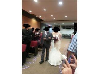 traje de boda david's bridal., Puerto Rico