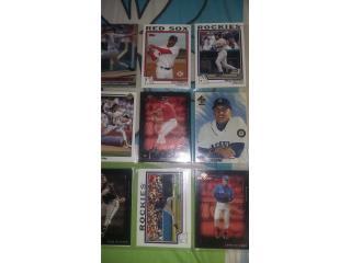 vendo tarjetas de beisbol, Puerto Rico