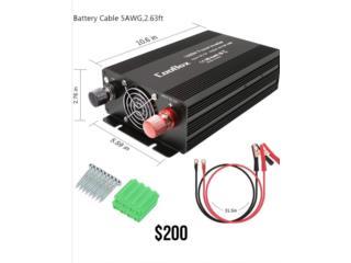 Power Inverter de 1000W Continuos 2000W Peak!, Puerto Rico