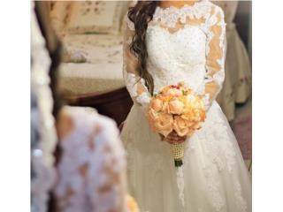 Hermoso vestido de novia, Puerto Rico