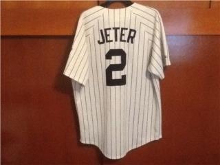 Derek Jeter 2000 World Series Jersey, Puerto Rico