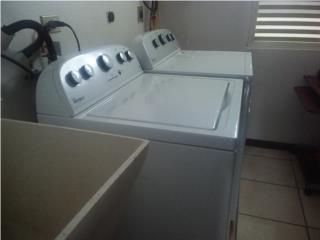 Lavadora y secadora de gas un año de uso, Puerto Rico