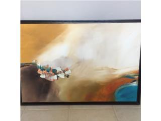 Espectacular Acrílico sobre Canvas Omar Díaz!, Puerto Rico
