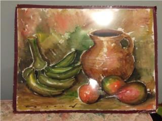 Bodegón de Plátanos y Mangoes, Puerto Rico