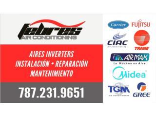 Air Max Inverter 12btu 18seer, Puerto Rico