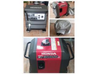 Generador Honda EU3000is Inverter, Puerto Rico