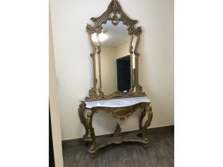 Credenza Con Tope De Marmol : Credenza tallada en madera con tope de marmol puerto rico