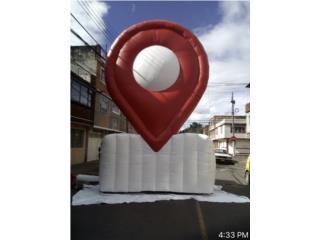 INFLABLES PARA PROMOCION, Puerto Rico