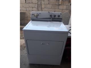 Secadora GE blanca electrica, Puerto Rico