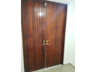 Puertas Entrada Madera Solida Teka(Teak wood), Puerto Rico
