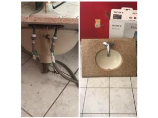 Se vende dos lavamanos en mármol nuevos, Puerto Rico