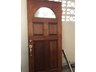 Puerta de entrada en madera , Puerto Rico